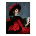 La Baronne de Crussol, 1785 Postcard
