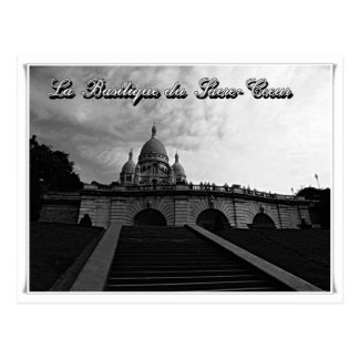 La Basilique du Sacre-Coeur Paris France Postcard