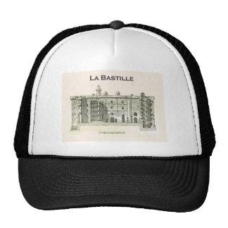La  bastille, Paris, vintage drawing Trucker Hats