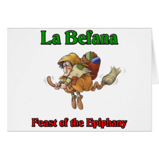 La Befana (Christmas Witch) Feast of the Epiphany. Cards