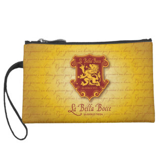 La Bella Bocce Clutch Bag Wristlet Purses