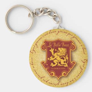 La Bella Bocce Keychain