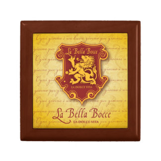 la Bella Bocce Wood & Tile Giftbox Gift Box
