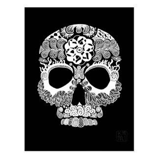 La Bella Muerte Dark Postcard