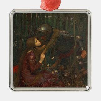 La Belle Dame Sans Merci, 1893 (oil on canvas) Christmas Ornament