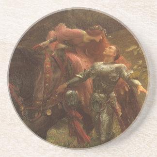 La Belle Dame sans Merci by Sir Frank Dicksee Coaster