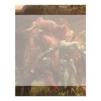 La Belle Dame sans Merci, Dicksee, Victorian Art Personalized Flyer