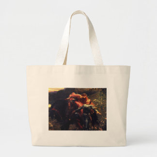 La Belle Dame Sans Merci [Sir Frank Dicksee] Large Tote Bag