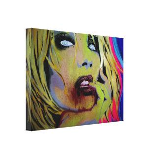 'La Belle Faim' Stretched Canvas Print