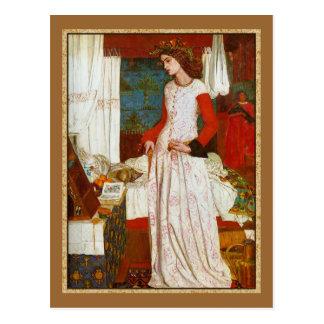 La Belle Iseult  ~  William Morris Post Card