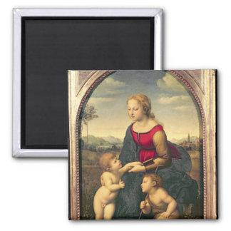 La Belle Jardiniere, 1507 Square Magnet