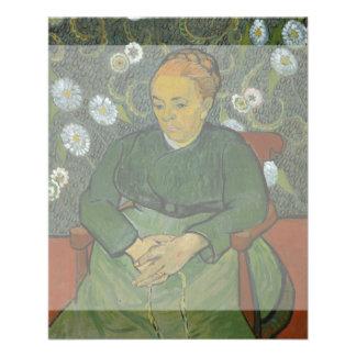 La Berceuse Augustine Roulin by Vincent Van Gogh 11.5 Cm X 14 Cm Flyer
