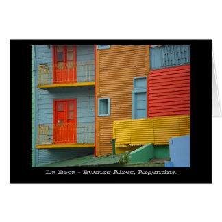La Boca Buenos Aires Argentina Greeting Card