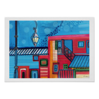 La Boca Houses Posters