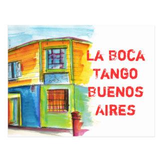 La Boca Tango Postcard
