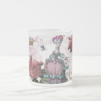 la cage aux oiseaux (The Bird cage) Frosted Glass Mug