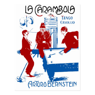 La CarambolaTango Postcard