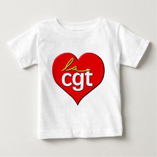 La CGT coeur Baby T-Shirt