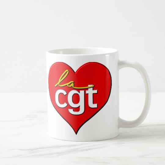 La CGT coeur Coffee Mug