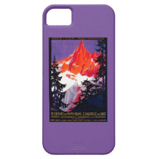 La Chaine De Mont-Blanc Vintage PosterEurope Case For The iPhone 5