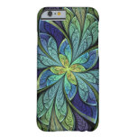 La Chanteuse IV Abstract Stained Glass Barely There iPhone 6 Case