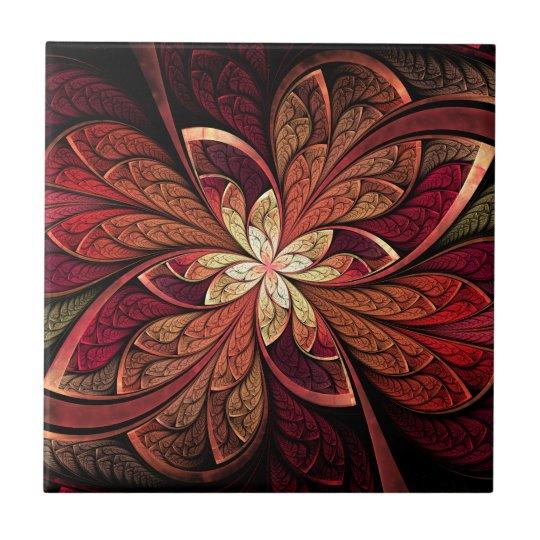 La Chanteuse Rouge Ceramic Tile