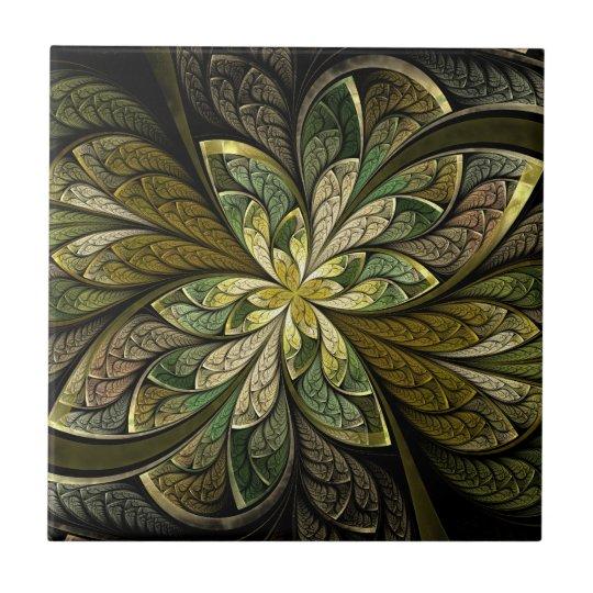 La Chanteuse Vert Ceramic Tile
