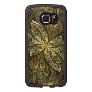 La Chanteuse Vert Wood Phone Case