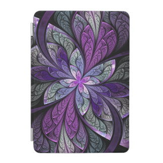 La Chanteuse Violett Purple Abstract iPad Mini Cover
