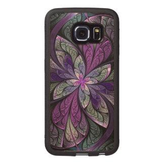 La Chanteuse Violett Wood Phone Case