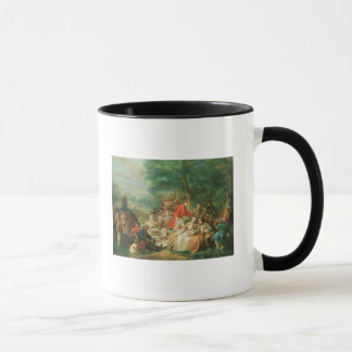 La Chasse, 18th century Mug