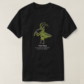 La Cieneguilla Flute Player Petroglyph T-shirt