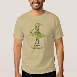 La Cieneguilla Flute Player Petroglyph Tee Shirts
