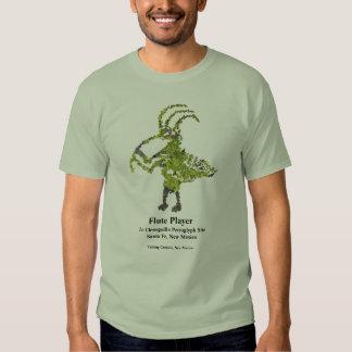 La Cieneguilla Flute Player Petroglyph Tshirt