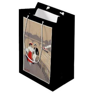 La Cite Art Deco Scene Medium Gift Bag