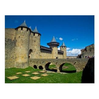 La Cite carcassonne Postcard