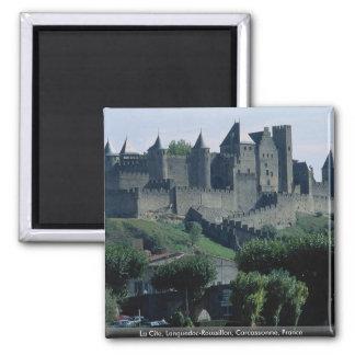 La Cite, Languedoc-Roussillon, Carcassonne, France Magnet