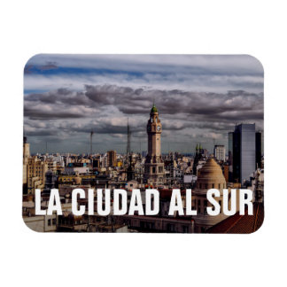 La Ciudad Al Sur - The City South Rectangular Photo Magnet