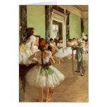 La Classe de Danse by Edgar Degas Greeting Cards