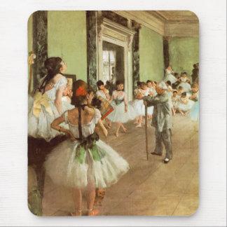 La Classe de Danse by Edgar Degas Mouse Pad
