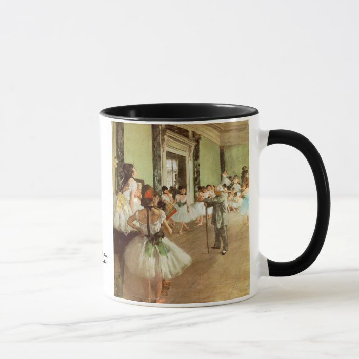 La Classe de Danse by Edgar Degas Mug