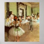 La Classe de Danse by Edgar Degas Print
