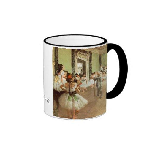 La Classe de Danse by Edgar Degas Ringer Mug