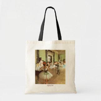 La Classe de Danse by Edgar Degas Tote Bag