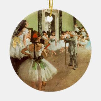 La Classe de Danse Christmas Ornament