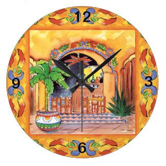 La Cocina wall clock