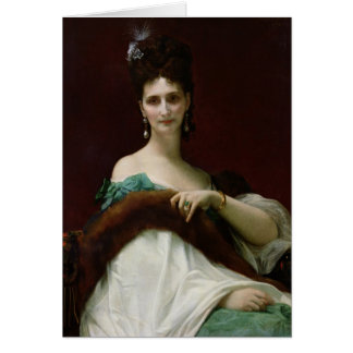 La Comtesse de Keller, 1873 Card