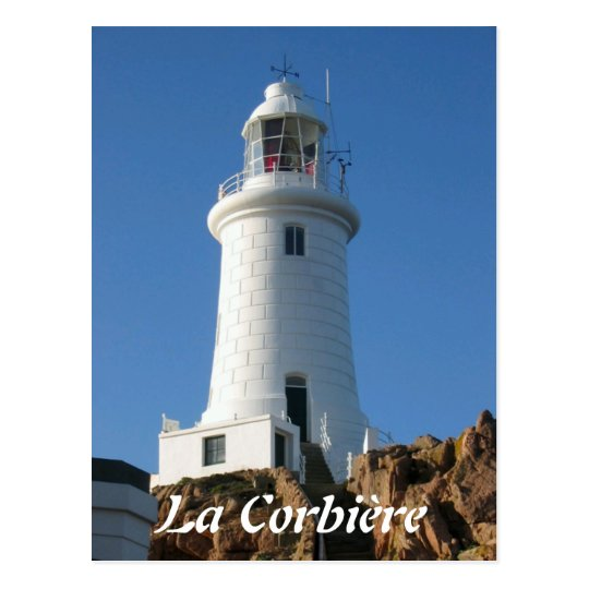 La Corbière Lighthoues, Jersey Postcard