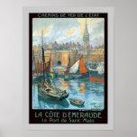 La Côte d' Émeraude Poster