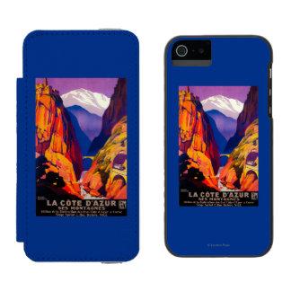 La Cote D'Azur Vintage PosterEurope 2 Incipio Watson™ iPhone 5 Wallet Case